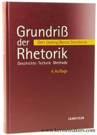 Grundriß der Rhetorik. Geschichte, Technik, Methode. 4., aktualisierte Auflage