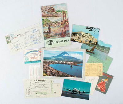 East Asia Travel and Airline Ephemera.