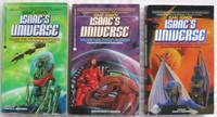 "Isaac Asimov's Universe series:  volume (1) one ""Diplomacy Guild"", volume (2) two..."