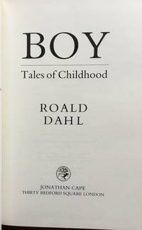Boy: Tales of Childhood.