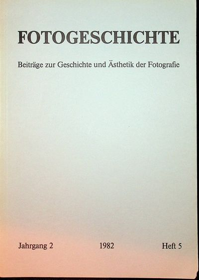 Frankfurt: Timm Starl, 1982. First Edition. Wraps. Near Fine. First Edition. 80 pages. Printed grey ...