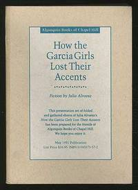 a book analysis of how the garcia girls lost their accent by julia alvarez How the garcia girls lost their accents graciela obert book something to declare: and just as we had once huddled in the school playground, speaking spanish for the julia alvarez™ life story: how the garcia girls lost their accents 294.