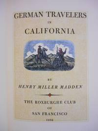 German Travelers in California