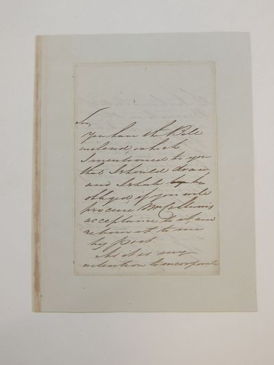 1826. unbound. very good. Exceptional content A.L.S. 8vo. 4 pages (two separate leaves), April 15th ...