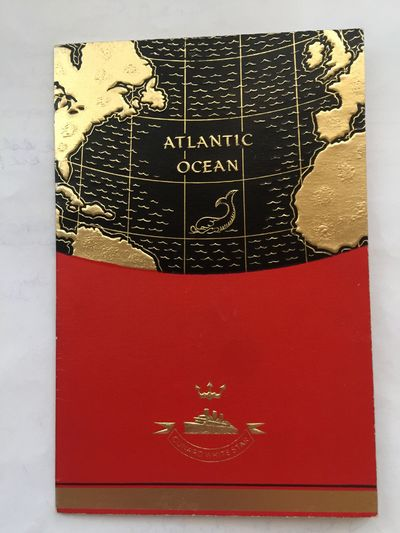 CUNARD White Star. R.M.S. ANDANIA. 4to. 1938. Brochure for the Cunard Liner sailing from New York to...