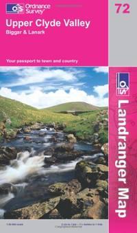 image of Upper Clyde Valley, Biggar and Lanark (Landranger Maps) (OS Landranger Map)