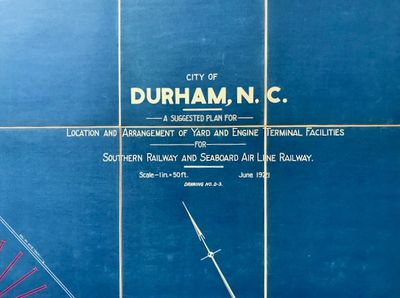 Greensboro, North Carolina: Frank T. Miller, Consulting Engineer, 1921. First Edition. Hardcover. Ve...
