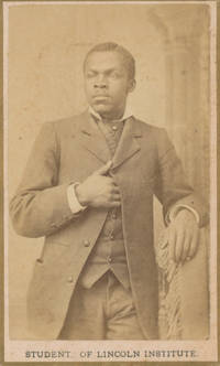 Four Photographs of Students of the Lincoln Institute