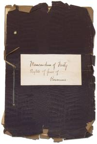 image of [Manuscript]: Memorandum on the Treaty Rights of the Jews of Roumania