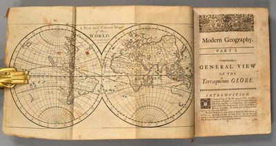 1730. SENEX. GORDON, Pat. GEOGRAPHY ANATOMIZ'D: OR, THE GEOGRAPHICAL GRAMMAR. BEING A SHORT AND EXAC...