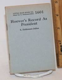 Hoover's record as president