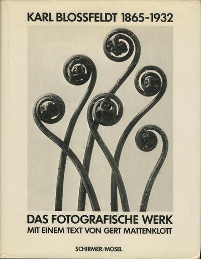 Munich: Schirmer/Mosel, 1981. First edition. Blossfeldt, Karl. 4to., 67 pp., numerous text illustrat...