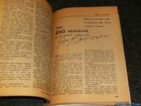 *Harmon Signed* Worlds of IF Science Fiction, September 1962, Featuring Fritz Leiber's *The Snowbank Orbit* (Volume 12, No. 4)