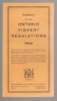Summary of the Ontario Fishery Regulations 1963