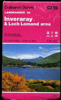 Ordnance Survey Landranger Series of Great Britain 1:50 000 (Pink Covers with Colour Photograph to the Front Cover) Sheet 56: Loch Lomond and Inveraray Area