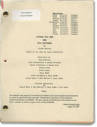 image of Role Models [Little Big Men, Big Brothers] (Original screenplay for the 2008 film, with annotations by costume designer)