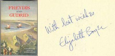 FREYDIS AND GUDRID A Documentary Novel, Boyer, Elizabeth