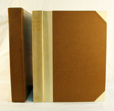 Cambridge: The Bibliophile Society, 1910. 1st ed., 1st issue. Half-bound with parchment & brown pape...