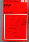 image of Ordnance Survey  One-Inch Map - Kintyre - Sheet 65