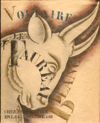 Paris: René Kieffer, 1926. Small quarto. Handsome color lithographed pictorial wrapper over stiff w...