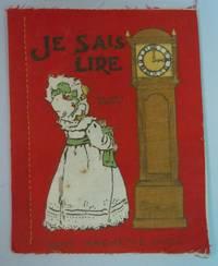 Je Sais Lire -  Dean's Rag Book Cloth Book