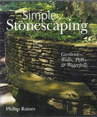 Simple Stonescaping.   Gardens, Walls, Path and Waterfalls