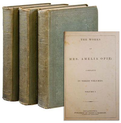 Philadelphia: Crissy & Markley, . First Edition. Three tall octavo volumes. Publishers blind- and gi...