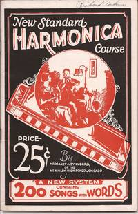 image of New Standard Harmonica Course; A New System contains 200 Songs with Words
