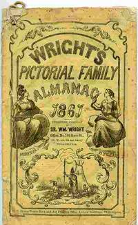 image of Wright's Pictorial Family Almanac, 1867.