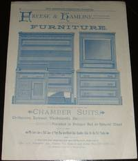 image of Original 1888 Illustrated Advertisement for Freese & Hamline Chamber Suits