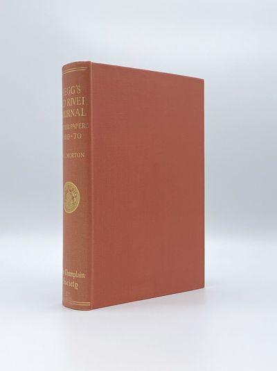 Toronto: The Champlain Society, 1956. A fine copy. 8vo. Plates and maps. Original red cloth, gilt-le...