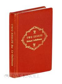 Chicago: Black Cat Press, 1961. leather, title gilt-stamped on spine and front board. Miniature Book...