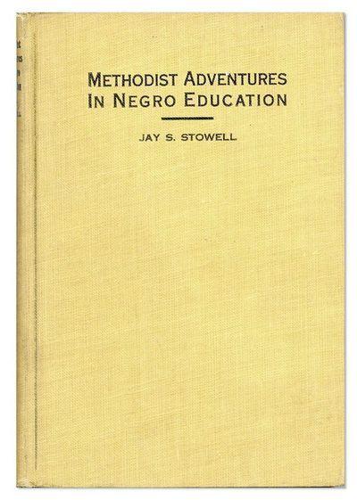 New York: Methodist Book Concern, . First Edition. Slim 12mo (19.25cm.); original tan printed cloth;...