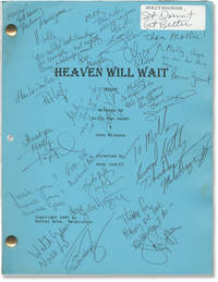 image of Heaven Will Wait (Original screenplay for the 1997 television film, signed by cast and crew)