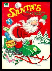 image of SANTA'S PAINT AND COLOR BOOK