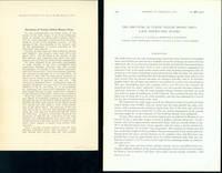 1) Structure of turnip yellow mosaic virus. Offprint from Nature 179 (1957). (2) The structure of turnip yellow mosaic virus: X-ray diffraction studies. Offprint from Biochimica et biophysica acta 25 (1957)