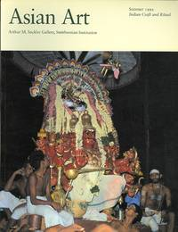 image of ASIAN ART.  VOLUME V, NUMBER 3.  SUMMER 1992: INDIAN CRAFT AND RITUAL.