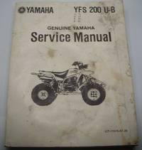 image of Genuine Yamaha Service Manual YFS 200 U-B