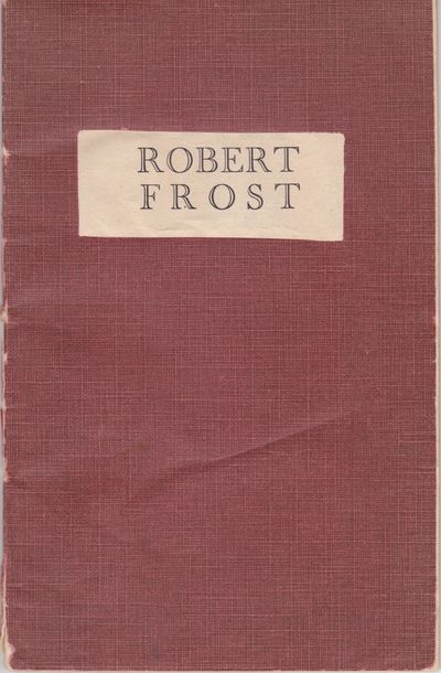 London: Ernest Benn Ltd., 1932. First Edition. Octavo (8 1/4 x 5 3/8 inches; 210 x 135 mm), 32 pages...