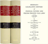 Seidman's Legislative History of Federal Income Tax Laws 1953-1939..