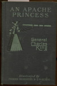 image of AN APACHE PRINCESS A TALE OF THE INDIAN FRONTIER