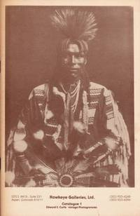 Edward S. Curtis vintage Photogravures Catalogue 1