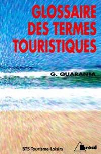 Glossaire des termes touristiques