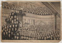 The late Revd. John Wesley, M.A. and 446 of the Preachers in his Connexion represented as assembled in City Road Chapel, London