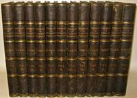 LODGE'S PORTRAITS. ILLUSTRATED PLATES. FOLIOS. FIRST EDITION, 1823.  Leather Library Set....