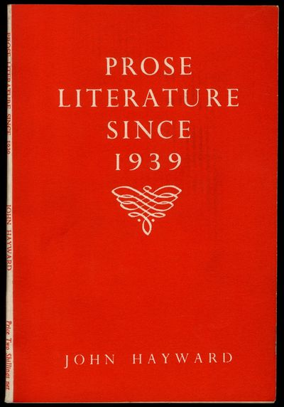 London: Published for The British Council by Longmans, Green and Co, 1948. Hardcover. Near Fine. Rep...