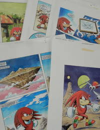 Archive of Original artwork for 1996 Knuckles (Sonic the Hedgehog) Knock-out Special