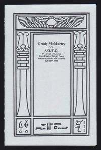 Grady McMurtry vs. S.O.T.O. 9th Circuit of Appeals United States District Court Northern District...