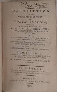 Description of the Western Territory of North America ... To which