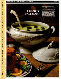 image of McCall's Cooking School Recipe Card: Soups 10 - Turkey-And-Vegetable  Chowder : Replacement McCall's Recipage or Recipe Card For 3-Ring Binders  : McCall's Cooking School Cookbook Series